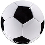 Car Sign Soccer Ball Magnets